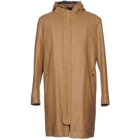 《期間限定 セール開催中》MACCHIA J メンズ コート キャメル L バージンウール 80% / ナイロン 20%