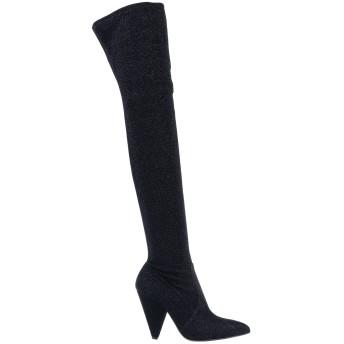 《セール開催中》GIAMPAOLO VIOZZI レディース ブーツ ブラック 37 紡績繊維