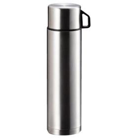 パール金属 H-6828 スタイルベーシック ダブルステンレスボトル1000 コップ付き 保冷 保温