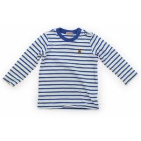 【ミキハウス/mikiHOUSE】Tシャツ・カットソー 90サイズ 男の子【USED子供服・ベビー服】(403204)