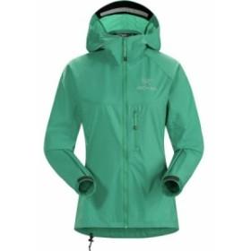 (取寄)アークテリクス レディース スカーミッシュ フーデッド ジャケット Arc'teryx Women Squamish Hooded Jacket Levitate