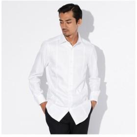 EPOCA UOMO / エポカ ウォモ 【ALBINI】シャドーヘリンボンレギュラーカラーシャツ