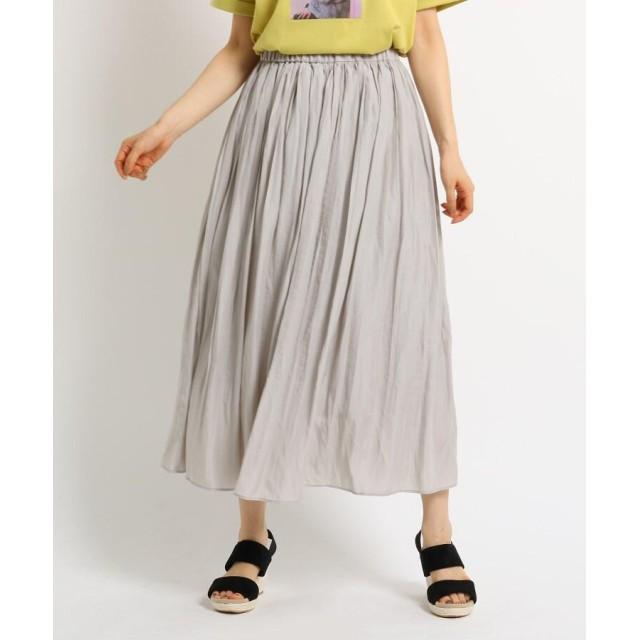 THE SHOP TK(Women)(ザ ショップ ティーケー(ウィメン)) ワッシャープリーツスカート