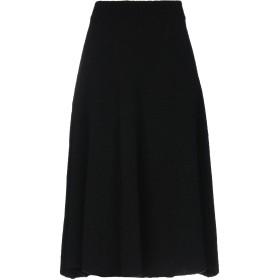 《期間限定 セール開催中》ELEVENTY レディース 7分丈スカート ブラック XS ウール 80% / ナイロン 20%
