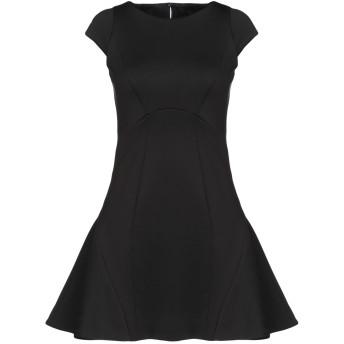 《9/20まで! 限定セール開催中》PHILIPP PLEIN レディース ミニワンピース&ドレス ブラック S 58% ポリエステル 30% コットン 12% ポリウレタン