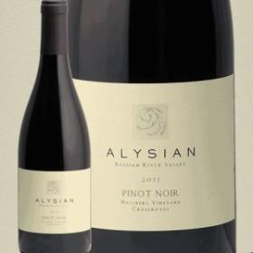 アリシアン ピノノワール ホールバーグクロスローズ 2011 ALYSIAN PINOT NOIR HALLBERG CROSSROADS 赤ワイン アメリカ カリフォルニア ソ