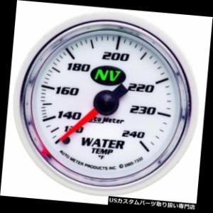 Auto Meter 7332 NV Mechanical Water Temperature Gauge