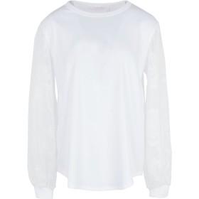 《期間限定セール開催中!》SEE BY CHLO レディース T シャツ ホワイト XS コットン 100% / ポリエステル