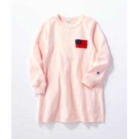Champion 【WEB限定】サガラワンピース キッズ ピンク