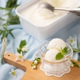 フルーツソムリエが作った濃厚ジェラート『ミルキーミルク』アイス