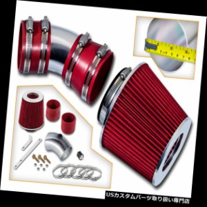 RED BLACK 2007-2010 FORD EDGE 3.5 3.5L SE SEL LIMITED V6 AIR INTAKE KIT SYSTEMS