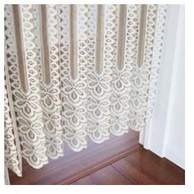 日本製 丈の調整ができるアコーディオンカーテン 150×173cm カット おしゃれ はさみ