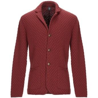 《期間限定セール開催中!》ELEVENTY メンズ テーラードジャケット 赤茶色 M バージンウール 100%