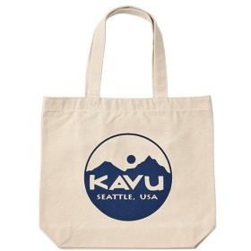 カブー KAVU Circle Logo Tote Bag Navy
