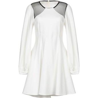 《セール開催中》PINKO レディース ミニワンピース&ドレス ホワイト 42 レーヨン 68% / ナイロン 27% / ポリウレタン 5%