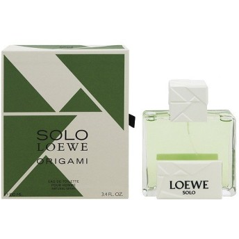 LOEWE ソロ ロエベ オリガミ EDT・SP 100ml 香水 フレグランス SOLO LOEWE ORIGAMI POUR HOMME NATURAL