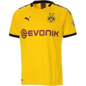 【プーマ公式通販】 プーマ ドルトムント BVB SS ホーム オーセンティック シャツ 半袖 メンズ Cyber Yellow-Puma Black  PUMA.com