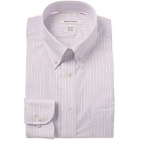 【THE SUIT COMPANY:トップス】【COOL MAX】ボタンダウンカラードレスシャツ ストライプ 〔EC・FIT〕