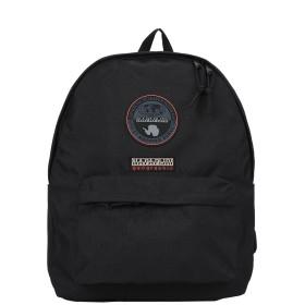 《セール開催中》NAPAPIJRI Unisex バックパック&ヒップバッグ ブラック ポリエステル 100%