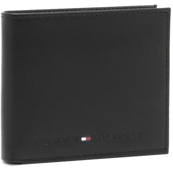 トミーヒルフィガー 財布 TOMMY HILFIGER 31TL25X005 001 WELLESLEY 2つ折り財布 BLACK