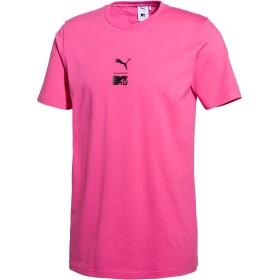 【プーマ公式通販】 プーマ PUMA x MTV Tシャツ メンズ SHOCKING PINK  PUMA.com