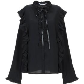 《期間限定セール開催中!》ANONYME DESIGNERS レディース シャツ ブラック S ポリエステル 100%