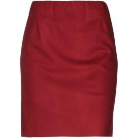 《9/20まで! 限定セール開催中》HARRIS WHARF LONDON レディース ひざ丈スカート ボルドー 42 バージンウール 100%