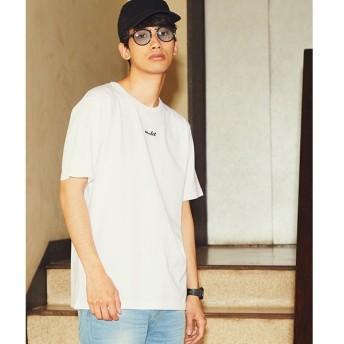 [マルイ]【セール】ワンポイントロゴ刺繍Tシャツ/ウィゴー(メンズ)(WEGO)