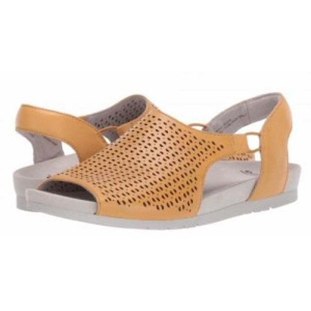 Earth アース レディース 女性用 シューズ 靴 サンダル Laveen Amber Yellow Soft Calf【送料無料】