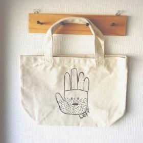Leftさん 手描きトートバック(1)