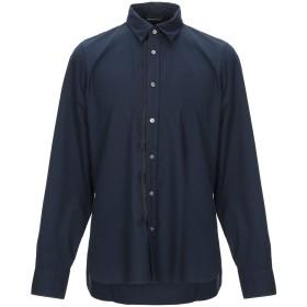 《期間限定 セール開催中》EMPORIO ARMANI メンズ シャツ ダークブルー S コットン 100%