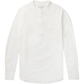 《期間限定セール開催中!》OFFICINE GNRALE Paris 6 メンズ シャツ ホワイト S コットン 100%