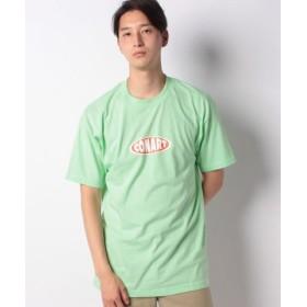 (WEGO/ウィゴー)WEGO/CONART別注Tシャツ/メンズ ライム