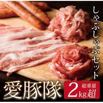 宮崎ブランドポーク「愛豚隊」しゃぶしゃぶセット