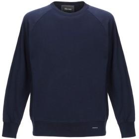 《期間限定セール開催中!》OBVIOUS BASIC メンズ スウェットシャツ ダークブルー M コットン 100%