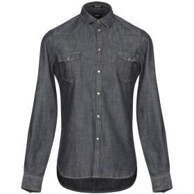 《期間限定セール開催中!》OFFICINA 36 メンズ デニムシャツ ブルー S コットン 100%