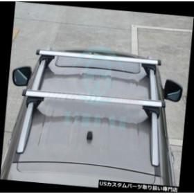 カーゴ、ルーフ キャリア トヨタハイランダー2009年-15年のための黒い合金のカーカーゴキャリアのクロスバーのルーフラック