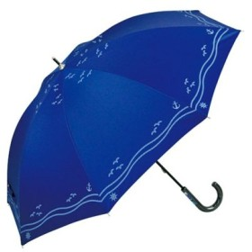 (BACKYARD FAMILY/BACKYARD FAMILY)アテイン ATTAIN 晴雨兼用 手開き 長傘/ユニセックス ブルー系2