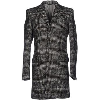 《9/20まで! 限定セール開催中》BRIAN DALES メンズ コート ブラック 48 ウール 75% / ナイロン 25%
