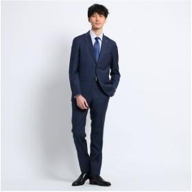 【タケオキクチ/TAKEO KIKUCHI】 チェック 2Bスーツ Fabric by REDA