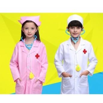 キッズ Doctor コスプレ コスチューム 赤ちゃん ガールズ Nurse ユニフォーム Role Play ハロウィン パーティー Wear Fanc