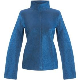 《期間限定 セール開催中》GOLDEN GOOSE DELUXE BRAND レディース スウェットシャツ ブルー S ポリエステル 65% / レーヨン 35%