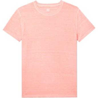 《セール開催中》120% メンズ T シャツ ピンク M 麻 100%