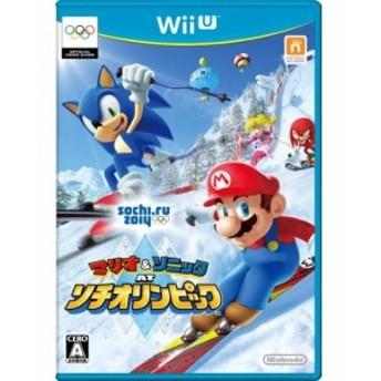 中古 マリオ&ソニック AT ソチオリンピック - Wii U 良品