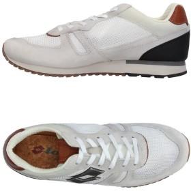 《期間限定セール開催中!》LOTTO LEGGENDA メンズ スニーカー&テニスシューズ(ローカット) ホワイト 42 紡績繊維 / 革