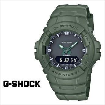 カシオ CASIO G-SHOCK 腕時計 グリーン G-100CU-3AJF ジーショック Gショック G-ショック メンズ レディース 時計 カーキ