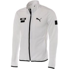 【プーマ公式通販】 プーマ ゴルフ ヘリテージ ニット ブルゾン メンズ Bright White |PUMA.com