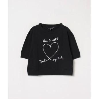 To b. by agnès b. WM40 TS メッセージTシャツ
