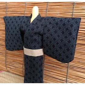 パパの浴衣 七宝 (27~28cmドール)