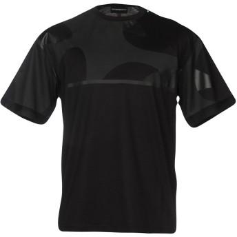 《セール開催中》EMPORIO ARMANI メンズ T シャツ ブラック M コットン 100%